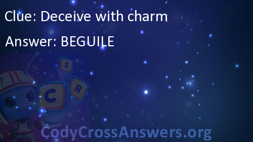 Deceive With Charm Answers Codycrossanswers Org